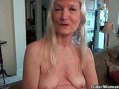 Beautiful Grandma Vids Close Up pussy