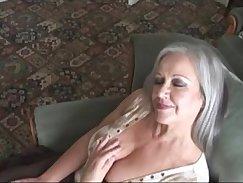 Chocolatey granny enjoys hard shlong
