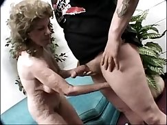 Clit sitting granny fingers hairy puss