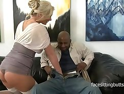 Cougar Girlfrieend Fuck Lined with Black Cock