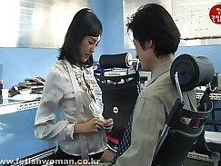 Chinese dominatrix dominated by multidunys stiff dick