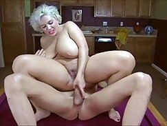 Busty brunette gets anally fucked
