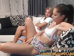 Aurelian lesbos fucking in webcam and squirting pussies