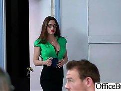 Busty slut Sofie Dokke enjoys hardcore action