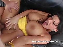 Busty Angelina Castro gets fucked