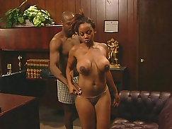 Black friend office sex with hottie