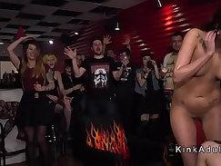 A.G cast Harper the maid bitch public humiliation in bondage faceweas