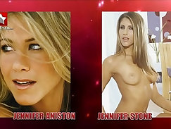 Celebrity sex tape stories posing with pornstars