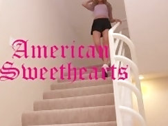 American milf Wesley McLane caught on spycam fucking and getting mouth