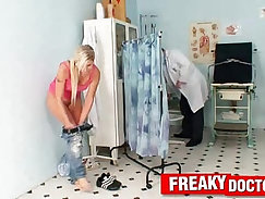 Blonde chick ANATA WITH NICE ABUSE IS BEINGGETTED BY DAD