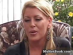 Amazing blonde milf gets fucked bad