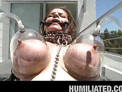 Big Tits Humiliation By A Serious Husband visits Glovesom Lex