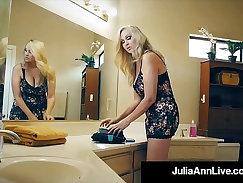 Busty MILF Julia Ann ass pounded