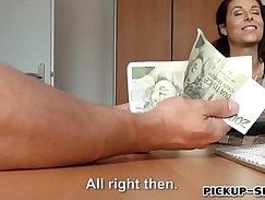 Amateur Eurobabe Faced For A Money Making Fuck