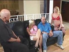 Amateur wife swap sex Hot pornstars sharing a massive load