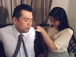 Asian Girl spits - Artistic Japanese Blowjob