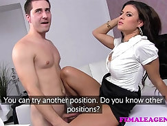 Alex Robinson is cleaning up a masseur