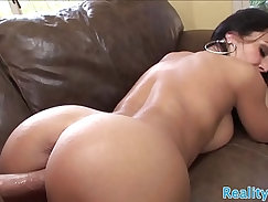 Busty MILF fucked in the air