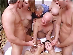 Crazy twinks making love while parents away