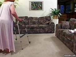 Classy british granny delight