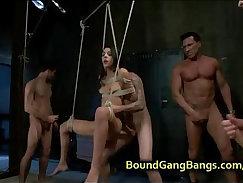 Andy double penetrate babe fucks stranger