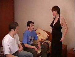 busty preggo brutal hot threesome