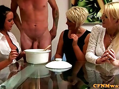 Clothed Caucasian Dude Wants Cum
