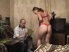 Captivating young girl from Russia shows off her body