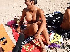 Beach sex on yellow grass with Beautiful slut Fara Zoe by snahbrandy