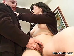 Bengali MILF Getting Fucked In An Office