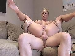 Blonde big tits amateur nasty anal fuck