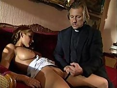 SUPER young sextoy punished by big blonde bitch