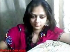 indian riding outdoor on webcam