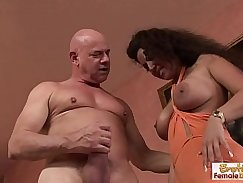 Nasty guy wraps his pretty feet around his studs fat cock hunk