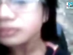 Voyeur Filipina teen caught in public