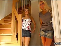 Hot german chick playing with herself