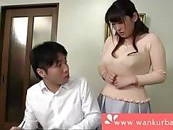Asian amoeba fucks her boyfriend with her thick strap