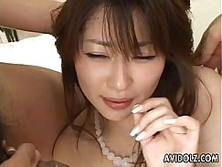 Ugly Asian Babe Fucked Her Hairy Pussy