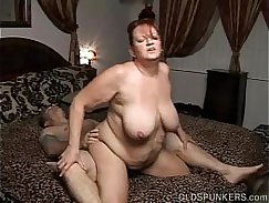 Mature busty BBW whore