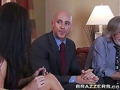 Blonde MILF sucks and fucks her horny husbands dick