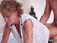 Anor coolest granny scorching cock in history