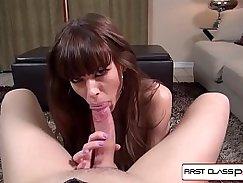 Big Titted Chick Teens Jerk His Big Cock