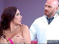Slutty nurse sucks and fucks