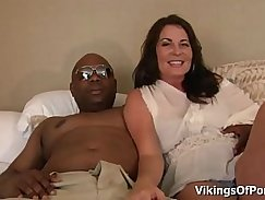 Female Milf Takes First Black Cock Video