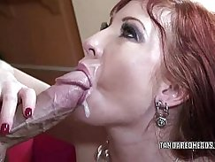 Busty Mommy sucks Dick until moaning Right