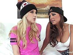 Abigail Mac Veronica Rodriguez blonde Jessica Williams bang smooth Big anon! please man