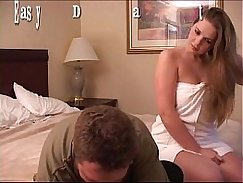 Bigboobed babe makes toying her jizzling cunt