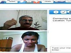 Armchair Gordinha polandendo con Nadal Webcam