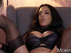 Busty Latin Stockings Milf Preview