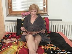 College granny gets her moist pussy rammed real hard